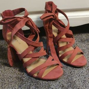 Torrid coral shoes